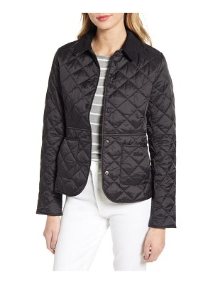 Barbour deveron diamond quilted jacket