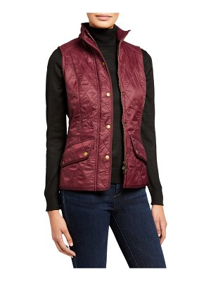 Barbour Diamond-Quilted Cavalry Gilet