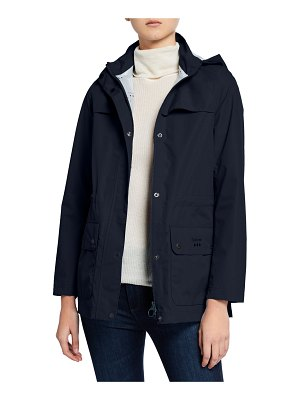Barbour Drizzel Raincoat w/ Detachable Hood