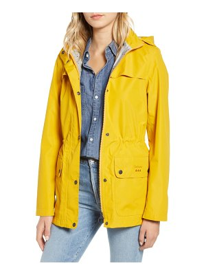 Barbour drizzel waterproof hooded raincoat