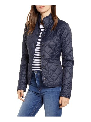Barbour fell water repellent quilted jacket