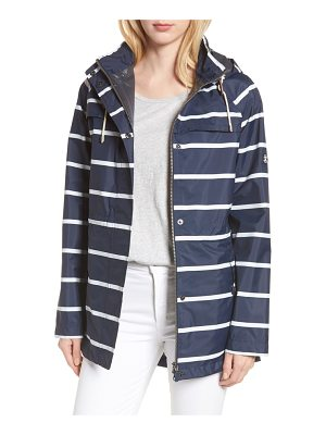 Barbour holliwell stripe hooded jacket