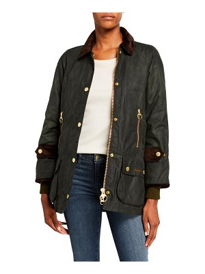 Barbour Icons Beaufort Waxed Cotton Raincoat