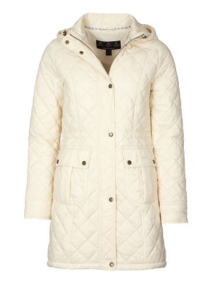 Barbour jenkins quilted coat