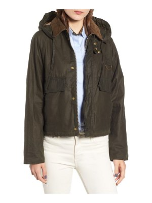 Barbour margaret howell spey water resistant waxed cotton jacket