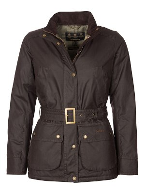 Barbour Montgomery Belted Wax Cotton Jacket