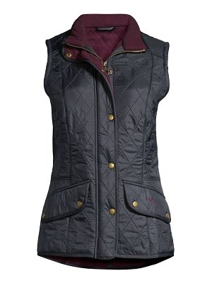 Barbour must haves cavalry quilted vest