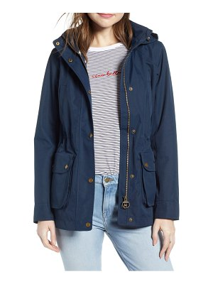 Barbour stoat waterproof hooded jacket