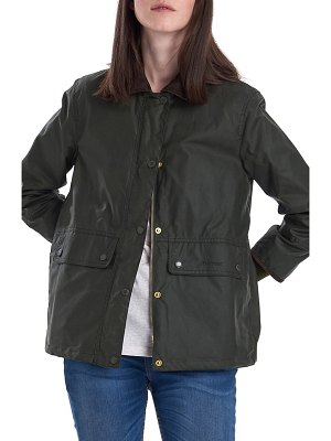 Barbour tawny water resistant waxed jacket