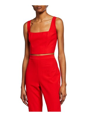 Bardot Chantelle Sleeveless Crop Top