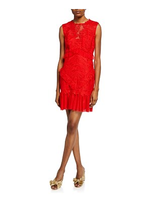Bardot Francesca Sleeveless Lace Cocktail Dress