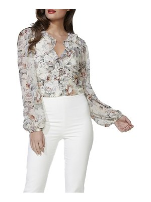 Bardot nelly floral print top