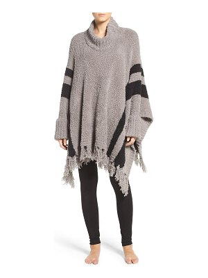 Barefoot Dreams barefoot dreams 'cozy chic beach' fringe lounge poncho
