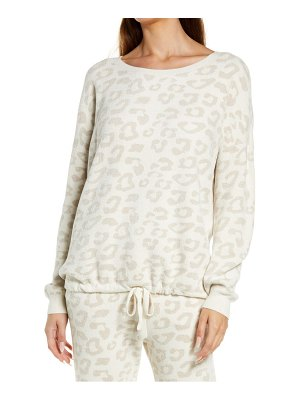 Barefoot Dreams barefoot dreams cozychic ultra lite(tm) print pullover