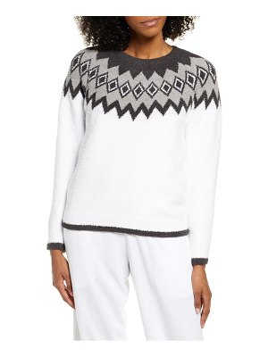 Barefoot Dreams barefoot dreams cozychic(tm) nordic sweater