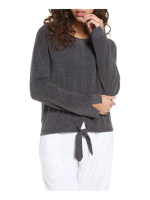 Barefoot Dreams barefoot dreams cozychic(tm) ultra lite tie front lounge pullover