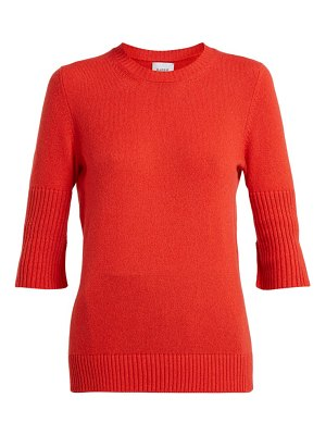 Barrie Arran Pop Short Sleeved Cashmere Sweater