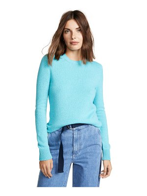 Barrie cashmere crew neck pullover