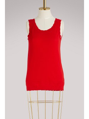 Barrie Cashmere tank top