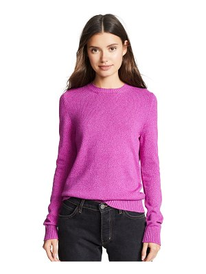 Barrie crew neck cashmere pullover