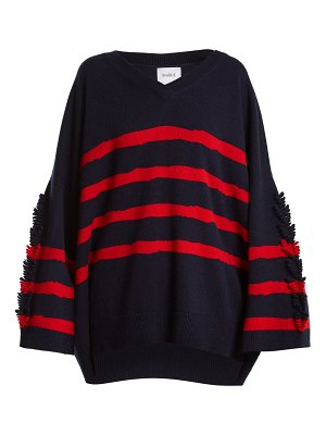 Barrie Fancy Coast oversized cashmere sweater