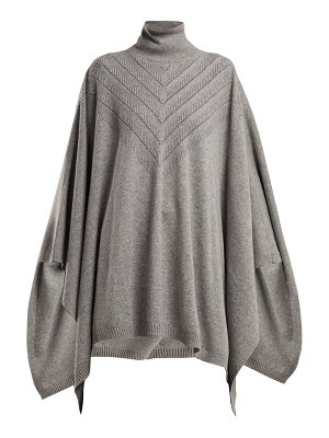 Barrie harmony cashmere poncho
