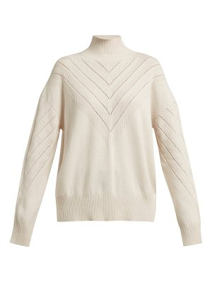 Barrie Harmony Chevron Cashmere Sweater