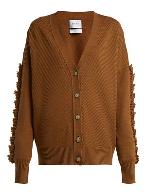 Barrie Loop Stitched Cashmere Cardigan