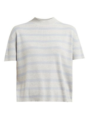 Barrie summer vibration striped cashmere sweater