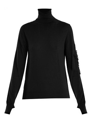 Barrie Thistle roll-neck cashmere sweater
