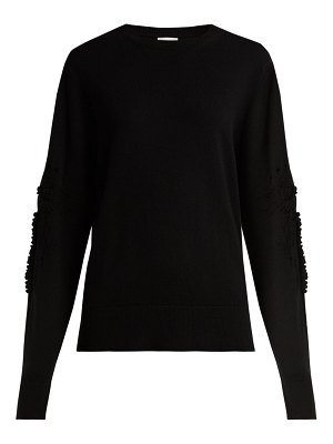 Barrie Timeless Romantic crew-neck cashmere sweater