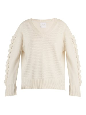 Barrie Troisieme Dimension V-neck cashmere sweater