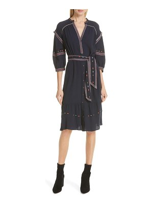 ba&sh patty embroidered dress
