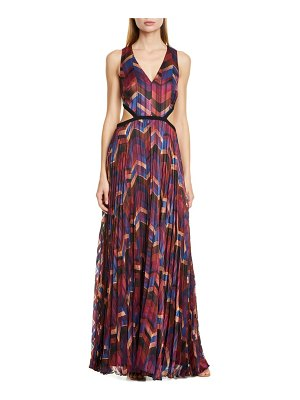 ba&sh pia pleated maxi dress