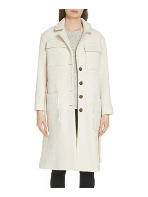ba&sh wayne wool blend coat