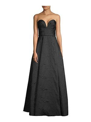 Basix Black Label embroidered strapless ball gown