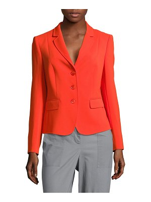 Basler Solid Notch-Lapel Jacket
