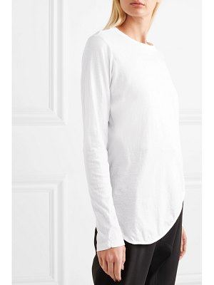 bassike heritage organic cotton-jersey top
