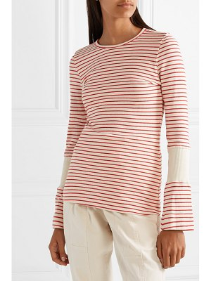 bassike striped cotton top