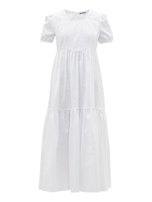 BATSHEVA broderie-anglaise cotton dress