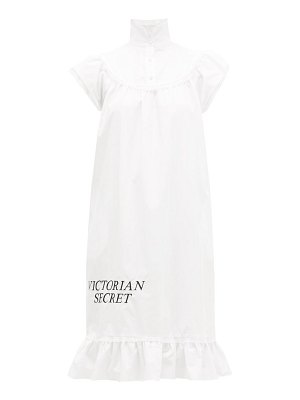 BATSHEVA victorian secret cotton-poplin midi dress