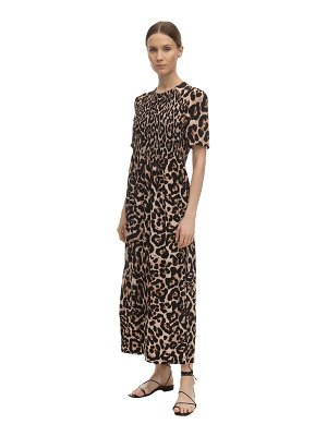 Baum Und Pferdgarten Adamaris printed silk blend midi dress