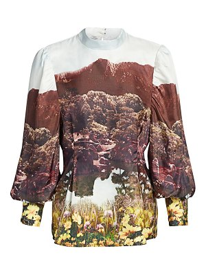 Baum Und Pferdgarten it takes a family morillo silk blouse