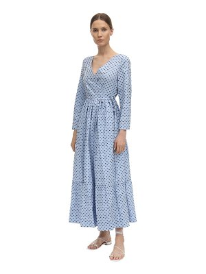 Baum Und Pferdgarten Point d'esprit poplin wrap dress