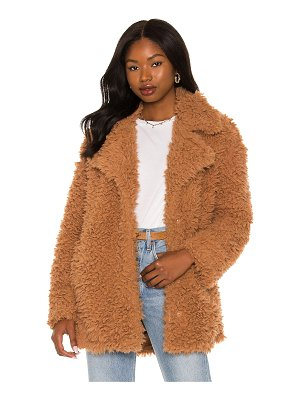 BB Dakota by Steve Madden what's the fuzz about faux fur coat