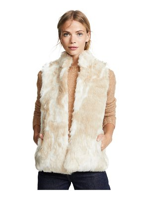 BB Dakota jack by  fur what faux fur vest