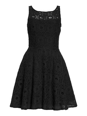 BB Dakota renley lace fit & flare minidress