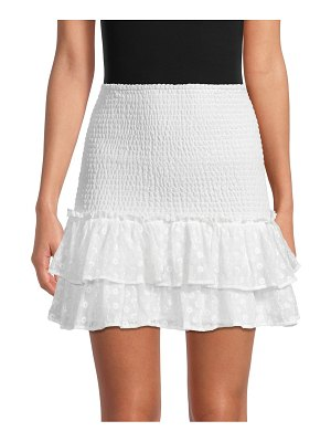 BB Dakota Ruffle Mini Skirt