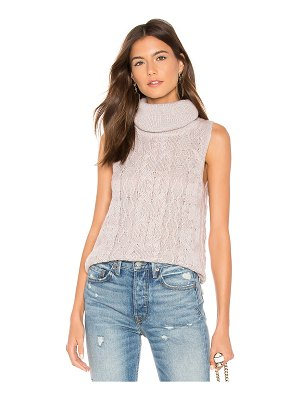 BB Dakota sweater with time sleeveless sweater