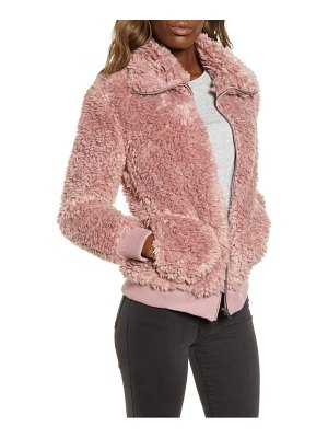 BB Dakota teddy or not faux fur bomber jacket